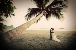 Beach Wedding, Dominical, Costa Rica
