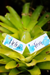 Lettering Place Cards Ideas